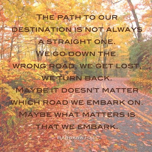 Life Path Quote: Life Path Quotes