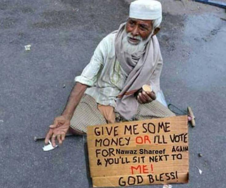 Funny Beggar In Pakistan