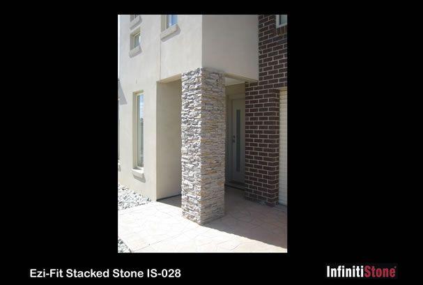 Stacked Stone Veneer Wall Cladding