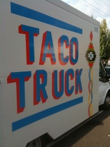 The famous Taco Truck!