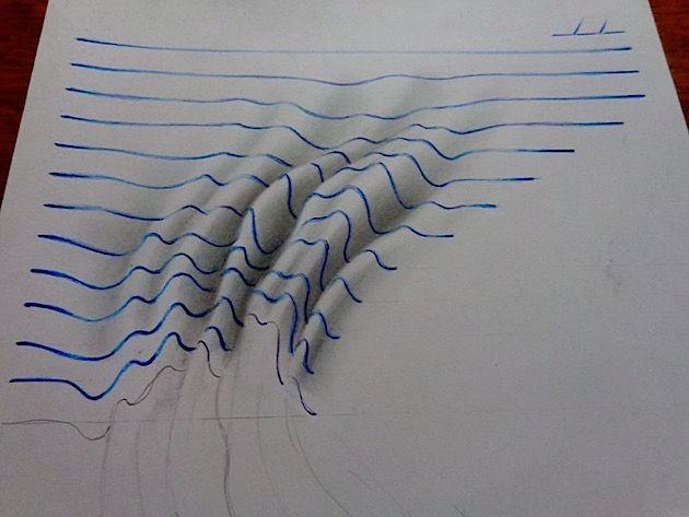 Dreidimensionale 2D-Kunst von J Desenhos | KlonBlog