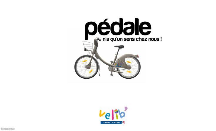 Visuel by Boxsons ... #velib #velo #bycycle #paris #pédale