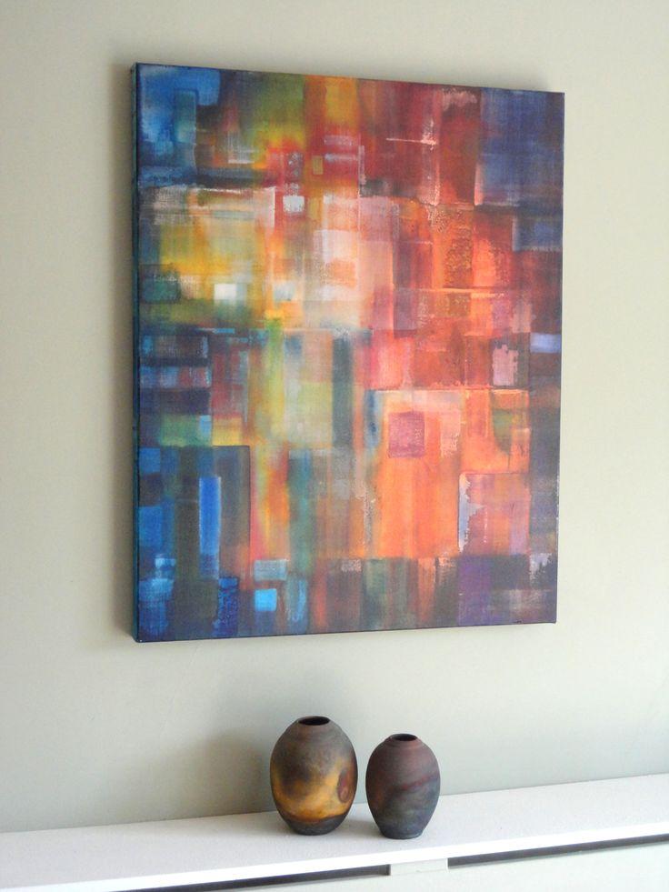 Abstract Art by Paul Mason More