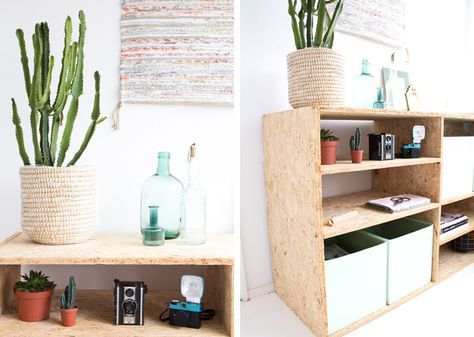 Arjan maakte een mooie zelfgemaakte kast van OSB hout voor in mijn werkkamer. Bekijk hier de werkbeschrijving en ga zelf aan de slag!