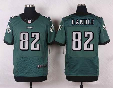 Philadelphia Eagles Jersey #82 Randle Green Retired Player NFL Nike Elite Jerseys