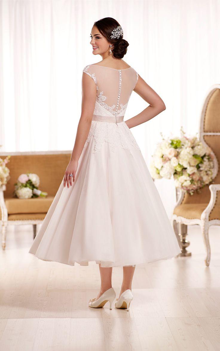 Tea length wedding dress patterns to sew  Essense of Australia D Zoom  E S S E N S E of australia