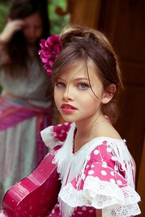 Waarom moeten we kindmodellen mijden? - Thylane Lena Rose Blondeau 10 jaar.