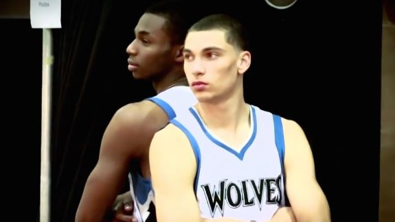 The Minnesota Timberwolves rookie duo of Andrew Wiggins and Zach LaVine are gonna have a lot of dunks this season so they gave themselves a nickname.