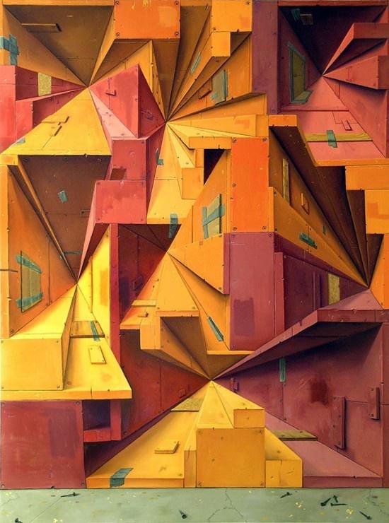 Coloridas y abstractas pinturas de Brian Cooper 10