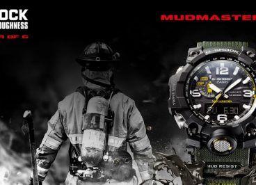 Disponibile nel nostro punto vendita Orologi & Co. la nuova collezione Mudmaster Survival Watches di Casio G-Shock: Tecnologia allo stato puro, guarda il video: CASIO G-SHOCK MUDMASTER