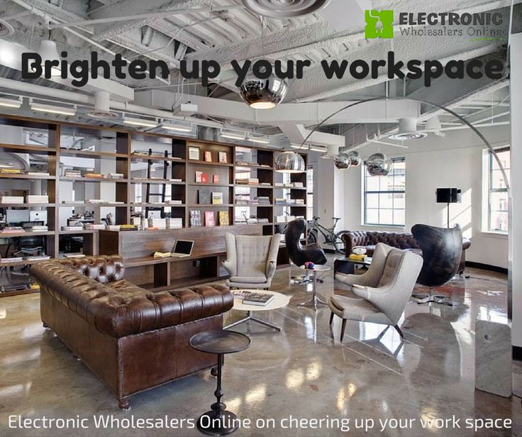 Brighten up your workspace for a happier and productive work life   http://www.electronicwholesalersonline.com.au/blog/lighten-up-your-workspace/