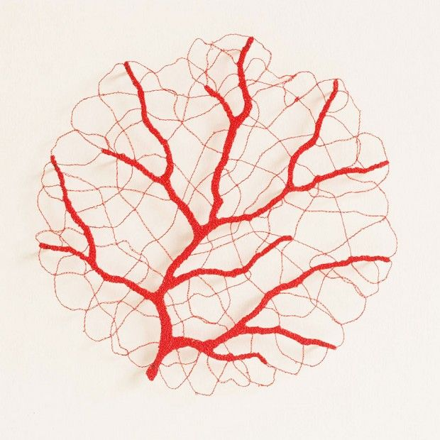 Broderies par Meredith Woolnough - Journal du Design