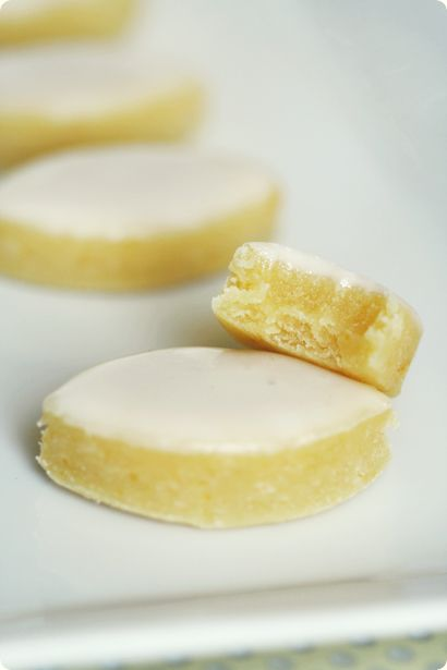 Calissions. A simple French candy.  The blogger of this recipe attached a beautiful story to this candy. Its a must read.