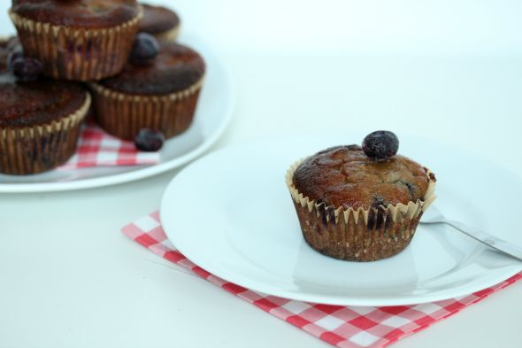 I Love Health | Blueberry muffins || healthy and so good! | http://www.ilovehealth.nl