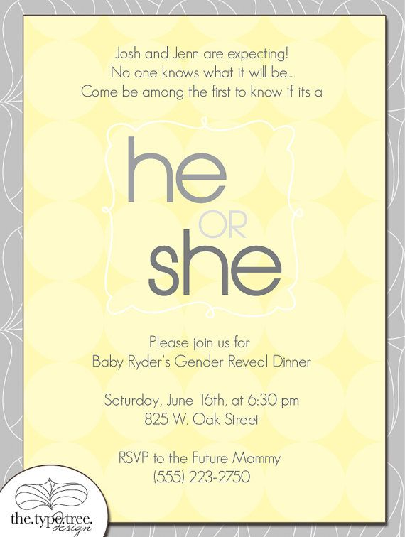 77 best images about Gender Reveal Party – Baby Gender Reveal Party Invitation Wording