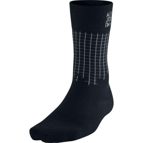 NWT Air Jordan Stencil Crew Men's Socks Black/Wolf Grey 642207-010 SZ 8-12 #Clothing, Shoes & Accessories:Men's Clothing:Socks ##nike #jordan #girls $8.00