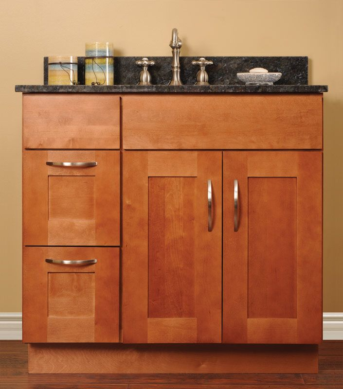 new discount bathroom vanity cabinets with newport vanities light cherry discount assembled bathroom cabinets bath pinterest bathroom vanities - Shaker Bathroom 2016