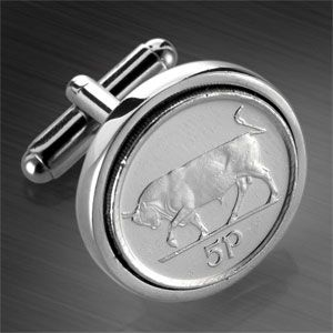 Irish 5p from www.worldcoincufflinks.com