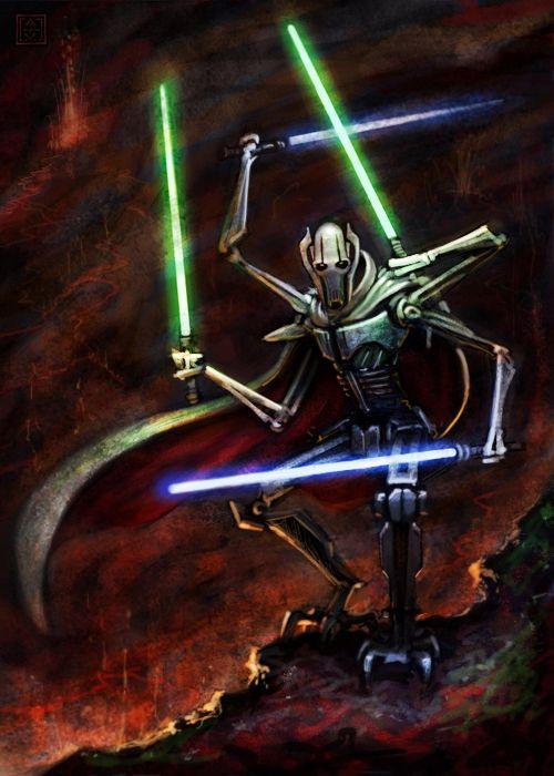 """""""I am NOT a droid,"""" - General Grievous"""