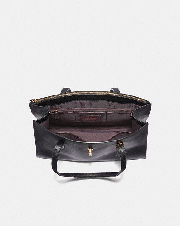 a383b3f507 Coach Turnlock Charlie Carryall Alternate View 2 Coach Handbags