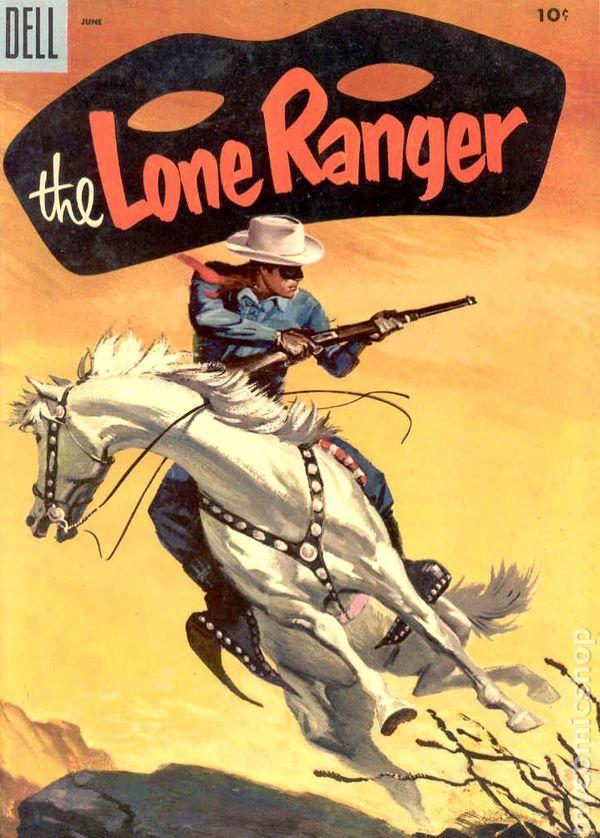 lone ranger dell | Lone Ranger (1948 Dell) comic books