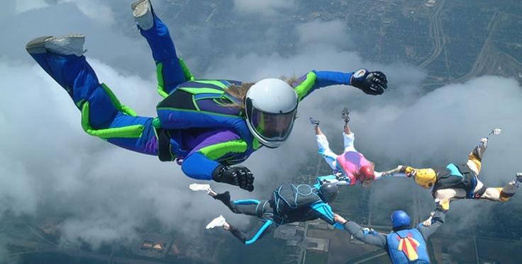 Skydiving :)