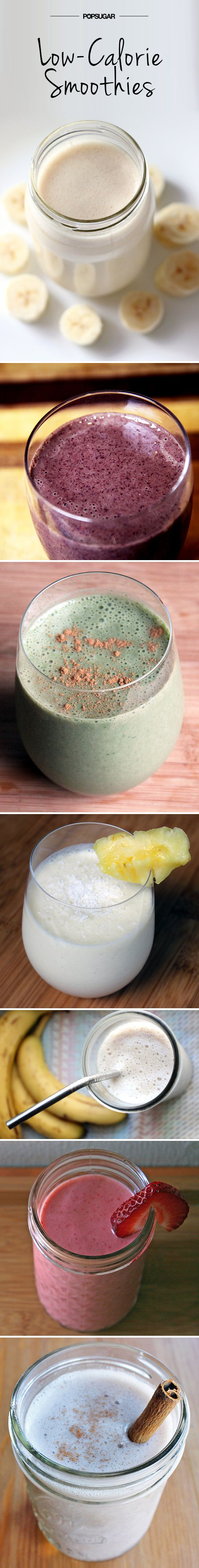Luscious and Low-Cal Smoothies — All Under 300