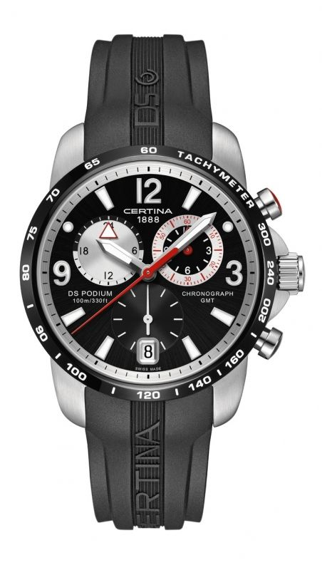 Certina DS Podium GMT - http://www.steiner-juwelier.at/Uhren/Certina-DS-Podium-GMT::734.html