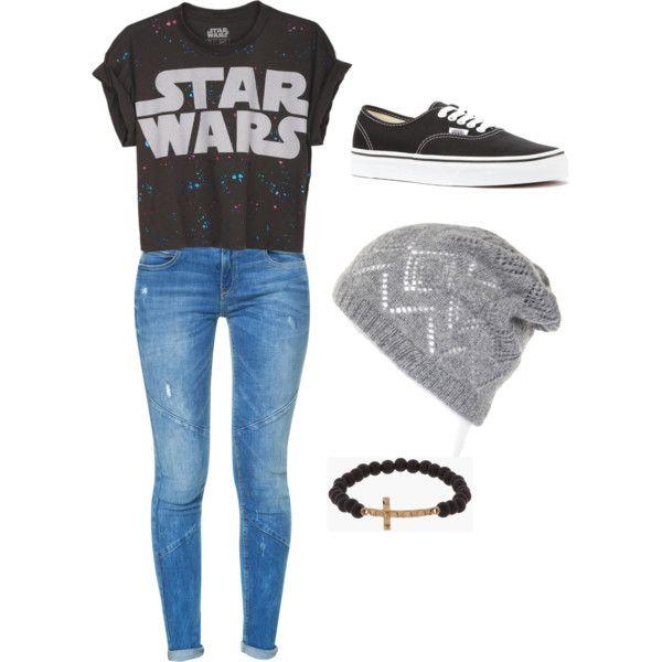 Star Wars girl, created by hannahmartin9 on Polyvore