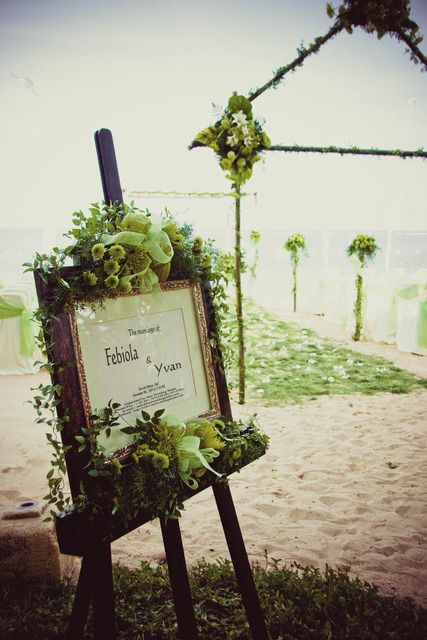 beach wedding Wedding Party Ideas | Photo 1 of 31 | Catch My Party