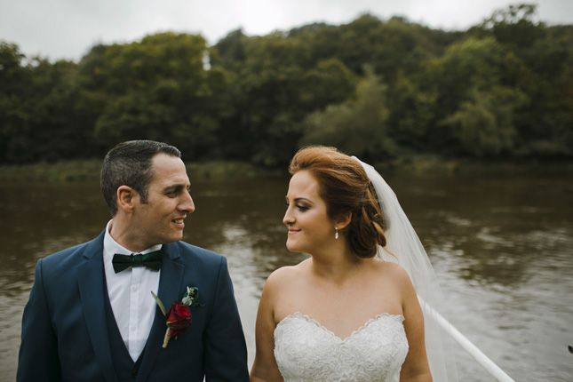 Jennifer and Trevor's rustic wedding at Innishannon House Hotel | Confetti.ie