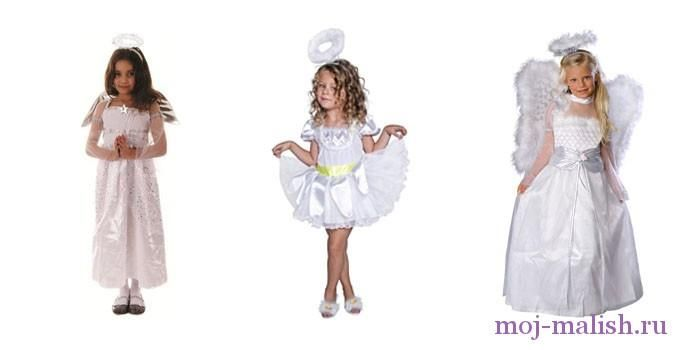 Карнавальные костюмы своими руками ангелочка