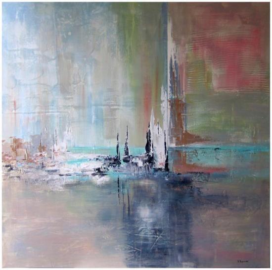 Kopcinksi artiste peintre huile abstrait gaye clear pinterest album - Peinture abstraite huile ...