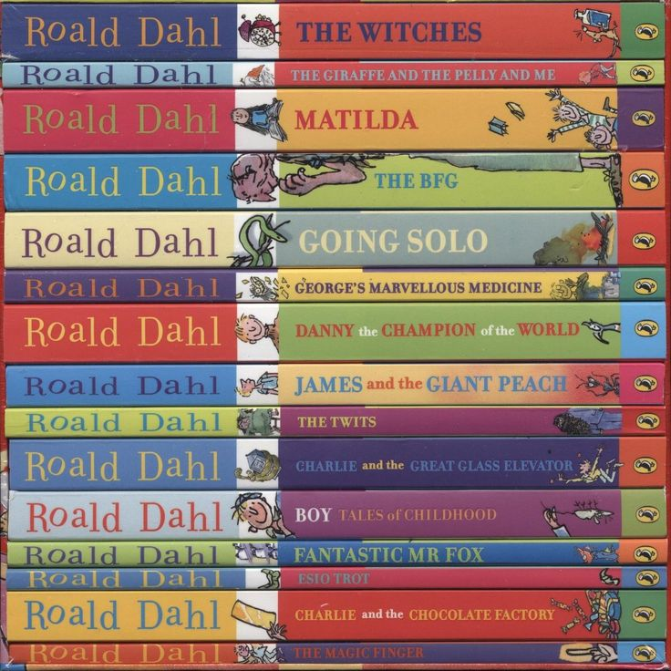 FABULOUS 15 book Roald Dahl Phizz Whizzing children's chapter book set. Lots of fun packed inside one gift box. A few of the titles include: Charlie and the Chocolate Factory, The Twits, James and the Giant Peach, Matilda and The Witches.  #ck