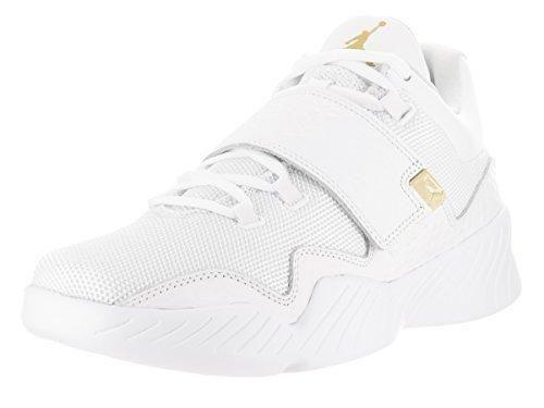 Nike Jordan Men's Jordan J23 White/Metallic Gold Casual Shoe 9.5 Men US