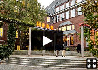 HFBK. The Hochschule für bildende Künste (HFBK) is the Hamburg state academy of higher artistic and scientific education.