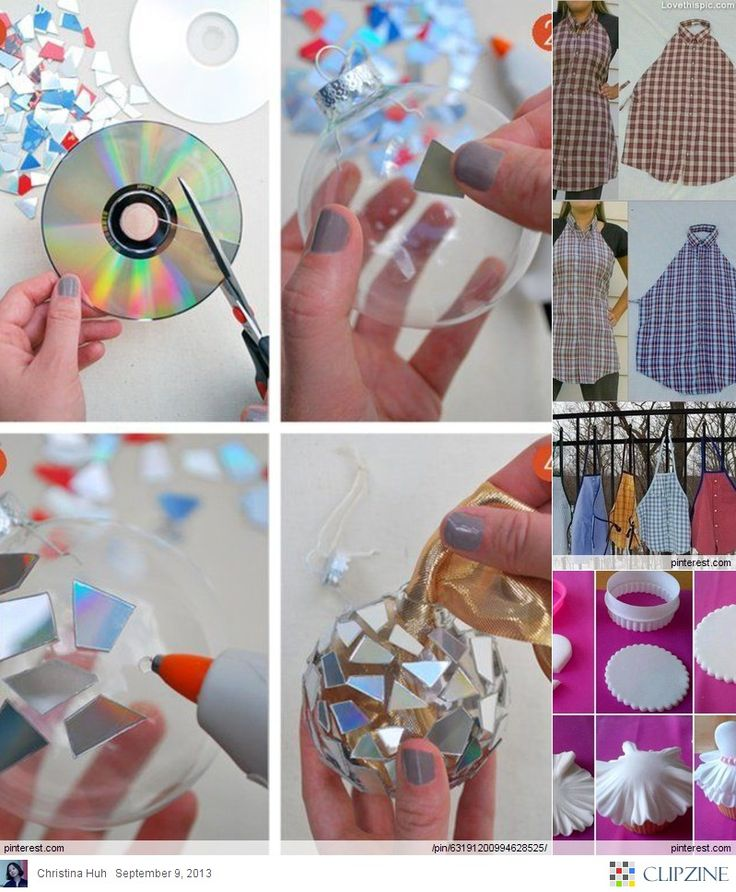 crafts diy craft projects homemade fun ornaments disco