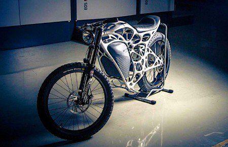 Empresa alemã cria motos de 35Kg desenvolvida por impressora 3D