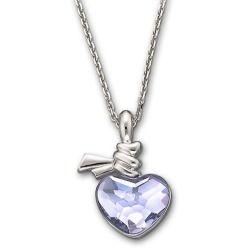 Swarovski Ties of Love Crystal Heart Pendant Necklace
