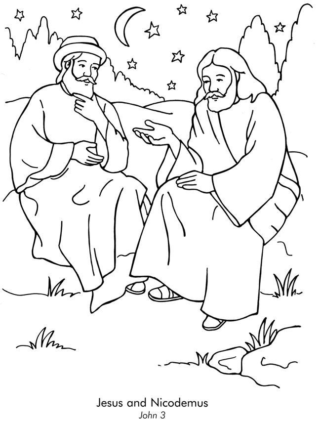 Nicodemus And Being Born Again