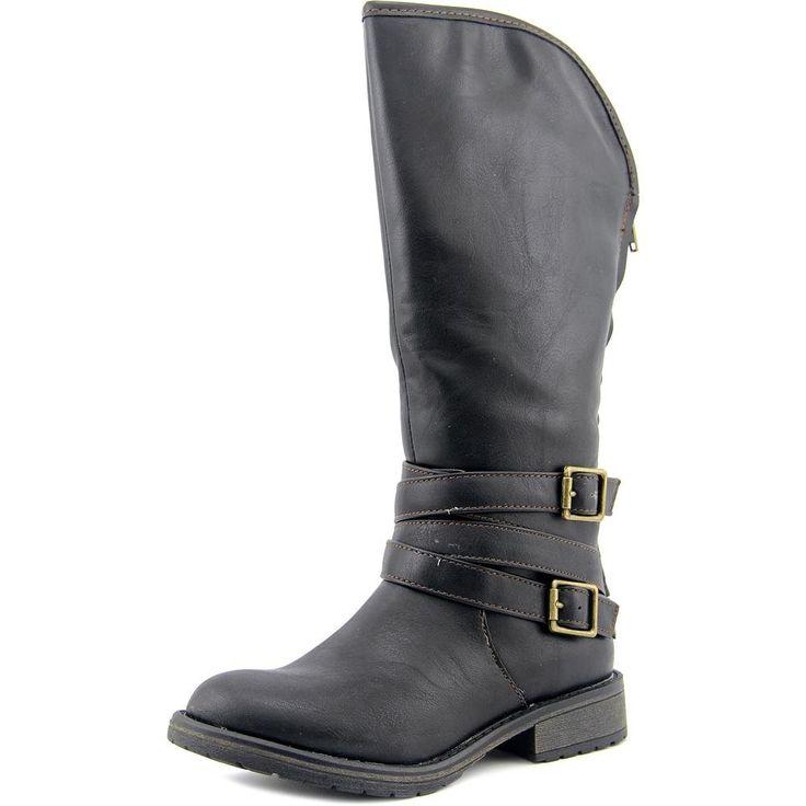Steve Madden Girls' Jdillin-K Boot, Black, 1 M US Little Kid. Padded sock for comfort.