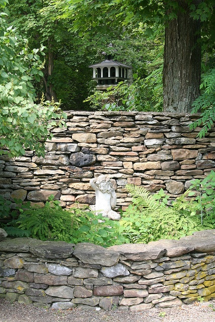 Best images about stone and rock walls on pinterest