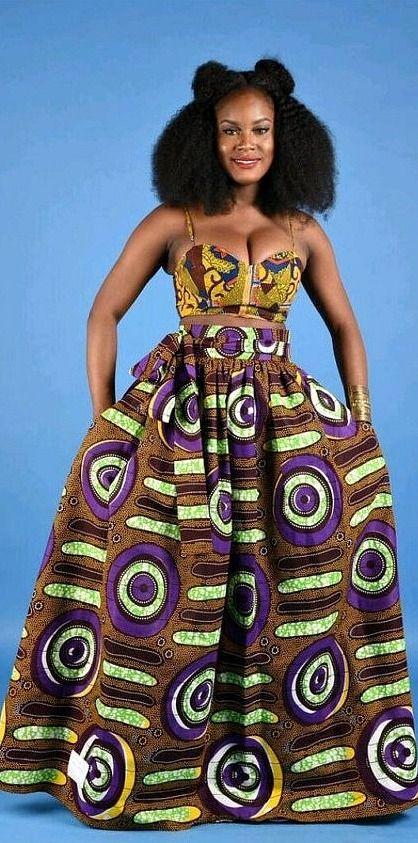 SALE NEW Purple African Print Maxi skirt. Ankara   Dutch wax   Kente   Kitenge   Dashiki   African print dress   African fashion   African women dresses   African prints   Nigerian style   Ghanaian fashion   Senegal fashion   Kenya fashion   Nigerian fashion   Ankara crop top (affiliate)