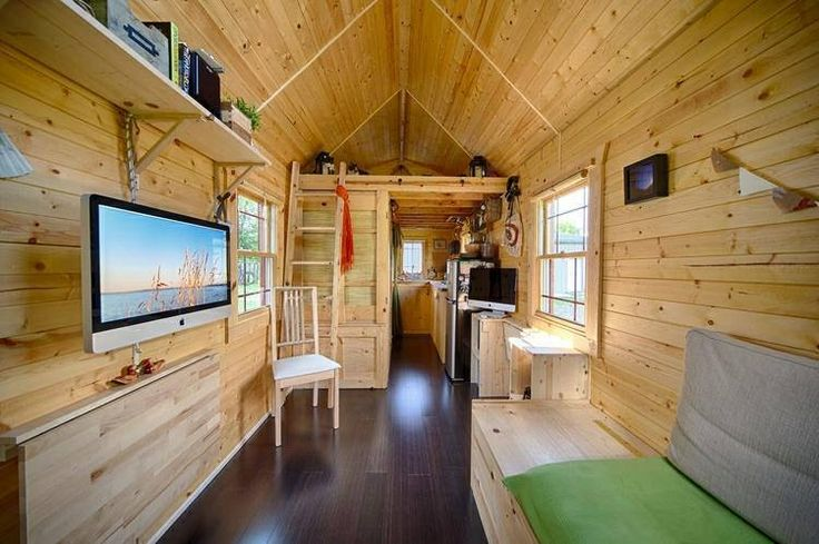interior tiny trailer home tiny house on a trailer pinterest tiny trailers - Tiny House Trailer Interior