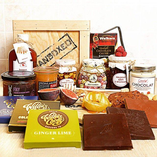 Naše nejsladší bedna - Bedna pro mlsouna XXL #food #sweets #chocolate #love #picoftheday #happyeaster #manboxeo #instagood #followme