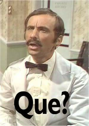 Manuel: Fawlty Towers.