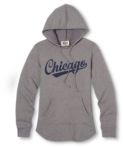 Chicago Local Pride by Todd Snyder Women's Hoodie - Heather Gray