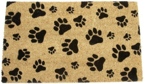 DII Black Paw Prints Coir Doormat with Vinyl Back by DII. $24.99. Includes 1 DII Black Paw Prints Coir Doormat with Vinyl Back. Shake briskly to clean. See all of Design Imports great pet, kitchen, home, and gift products. Makes great gift for any pet enthusiast. DII Black Paw Prints Coir Doormat features natural coir base with Black Paw Prints. 18-Inch by 30-Inch. Vinyl back. Makes great gift for any pet enthusiast.
