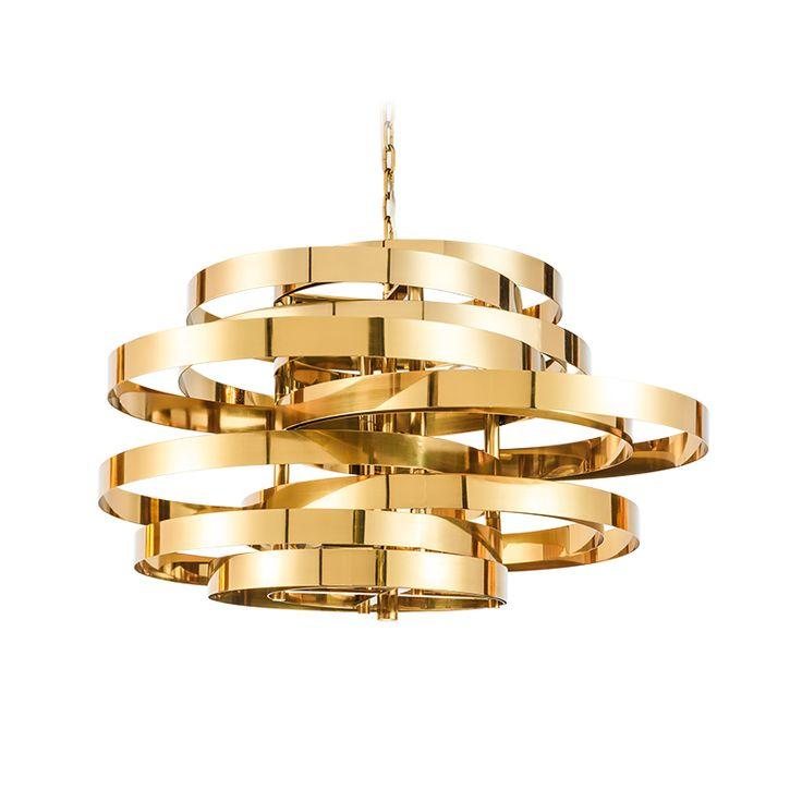 Hanging Gold Light For Babies Room