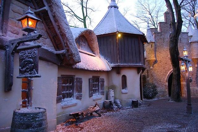 Anton Pieck Village, Winter Efteling, Netherlands